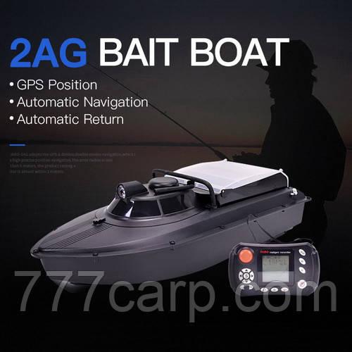 JABO-2AG-32 Кораблик для прикормки c GPS навигацией и автопилотом с литиевым аккумулятором 32 А/Ч