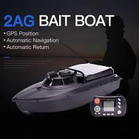 JABO-2AG-32 Кораблик для прикормки c GPS навигацией и автопилотом с литиевым аккумулятором 32 А/Ч  , фото 1