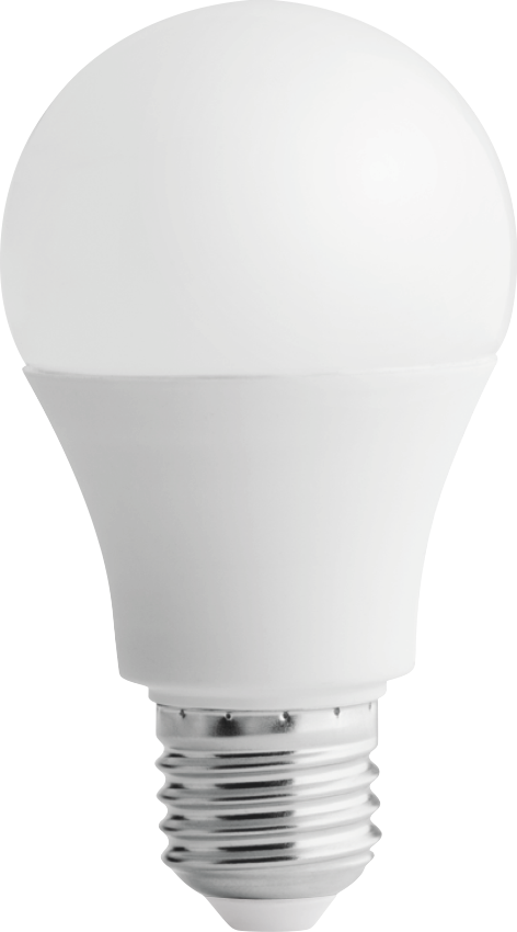 Світлодіодна лампа LED, 7Вт (аналог 60Вт), Природньо-білий,ТМ Iskra