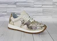 Потрясающие кроссовки с пайетками. Натуральная кожа 1746, фото 1