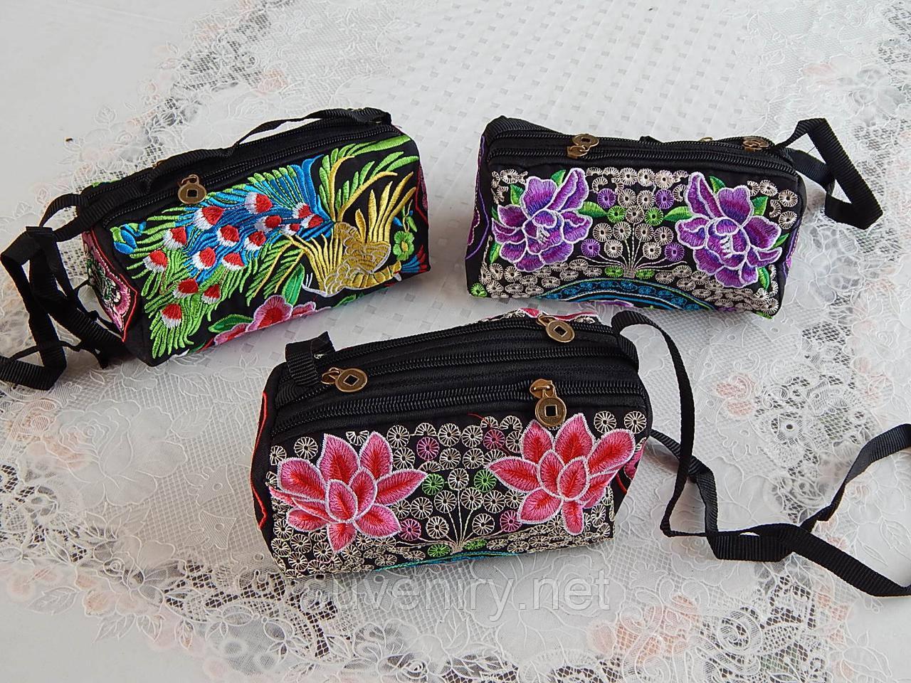 Красивая женская сумка на плечо разные рисунки