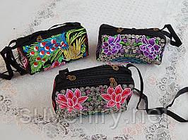 Красива жіноча сумка на плече різні малюнки