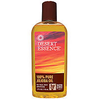 Desert Essence, 100% масло жожоба, 4 жидких унций (118 мл)
