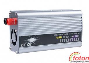 Инвертор автомобильный Power Inverter 1000W with USB