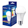 Електролампа світлодіодна LED  А60 - 8/теплобіла  220B, E27, ТМ Iskra