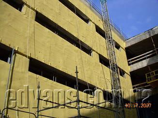 Утепление, изоляция ППУ промышленных зданий пенополиуретаном