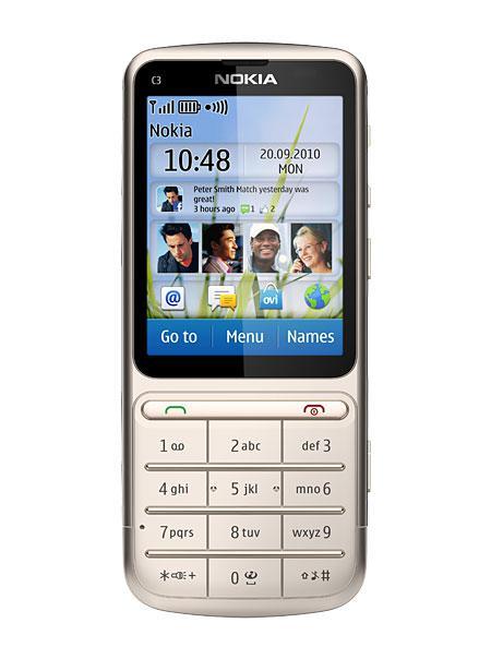 Мобильный телефон Nokia C3-01.5 Silver