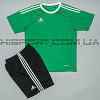 Футбольная форма Adidas игровая для команд зеленая