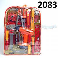 Набор инструментов с дрелью в рюкзаке  (ОПТОМ) 2083