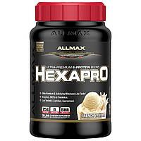 ALLMAX Nutrition, Hexapro, Ultra-Premium Protein + MCT & Coconut Oil, French Vanilla, 3 lbs (1.36 kg)