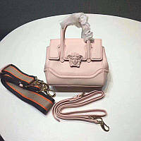 Versace маленькая розовая сумка-тоут Empire с головой Медузы