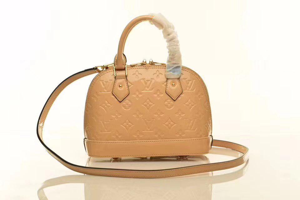 22fd1392d31d Louis Vuitton сумка Alma BB кремовая - Интернет магазин брендовой обуви