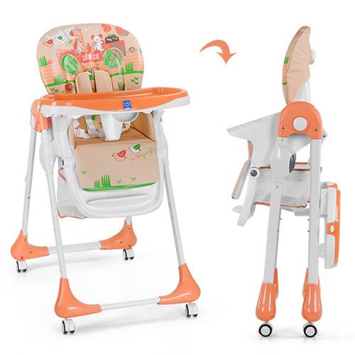 Стульчик для кормления Bambi M 3234-5 оранжевый