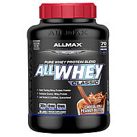 ALLMAX Nutrition, AllWhey Classic, 100% сывороточный белок, шоколад-арахисовое масло, 2270 г (5 lbs)