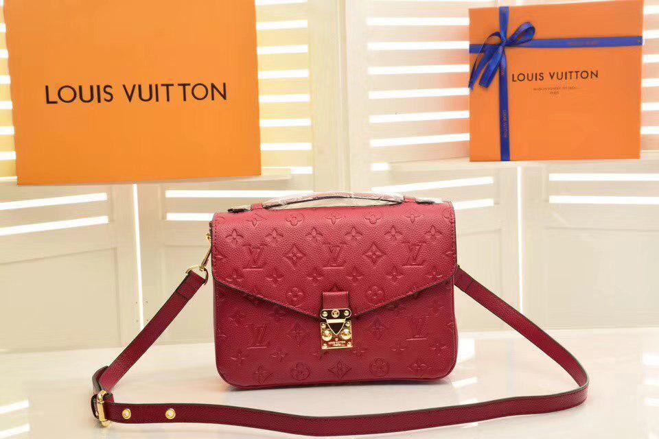 3384ac98bb16 Louis Vuitton Monogram Canvas сумка женская красная - Интернет магазин  брендовой обуви