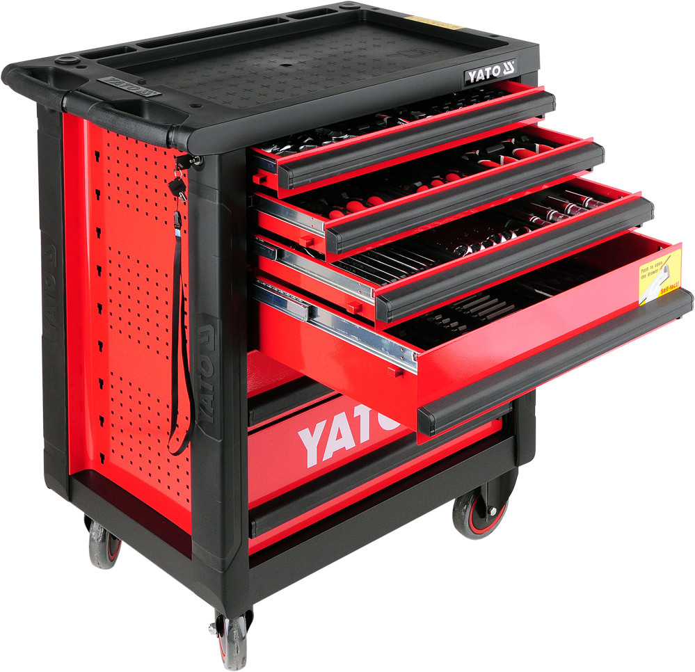 Шкаф с инструментом Yato 177ед. YT-55300
