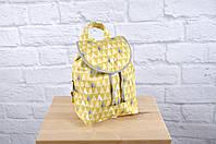 """Детский рюкзак """"Ёлочки желтые"""""""