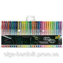 Набор гелевых ручек Folia Gel-Pens Glitter + Metallic + Pastel, 30 шт, Folia 1939