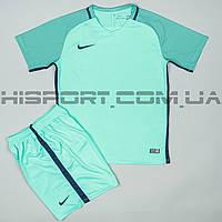 Футбольная форма игровая Nike мятная