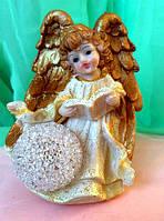 Статуэтка - Ангел светящийся шар, высота 12 см.