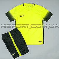 Футбольная форма игровая Nike салатовая