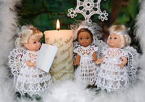 """Новогодние украшения на елку """"Ангелочки"""""""