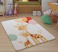 Коврик для детской комнаты 100х150 Confetti Happy Giraffe Yellow