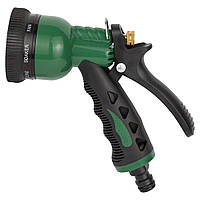 Пистолет для полива 8-ми режимный Grad металлический (ABS+TPR), фото 1