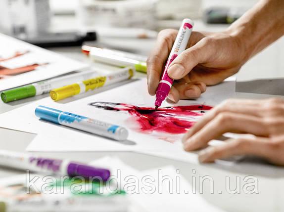 Ручка-кисточка Ecoline Brushpen (318), Кармин, Royal Talens, фото 2
