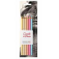 Набор пастельных карандашей Conte Portrait, 6 шт, 750112