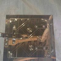 Дверца сажетруска нержавейка №5 в.90*90 мм н.150*150 мм