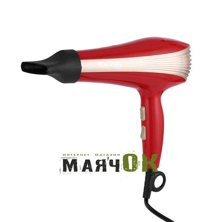 Фен для волос Kemei KM-899, 1800W, фото 2