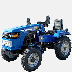 Трактор  DW 150RXL (15 л.с., регулируемая колея, с гидравликой, 4 датчика, блокировка дифференциала )