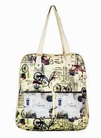 """Городской рюкзак-сумка """"Велосипед"""""""