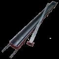 Форма металлическая для изготовления столба еврозабора  на 1 секцию