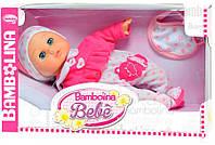 Говорящая кукла Малышка Флора 34 см Bambolina BD348UA