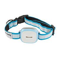 GPS трекер для собак SZORCHID GT011 Влагостойкий GPS ошейник для собак Бело-Синий (SUN0471)