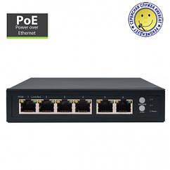 Amiko 4 Port POE Switch