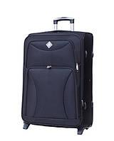 Дорожный чемодан на колесах Bonro Tourist Черный Средний