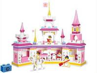 """Конструктор SLUBAN """"Розовая мечта-Замок принцессы"""" M38-B0251 (385 дет.)"""