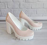 Женские туфли набелой подошве. ОПТ., фото 1