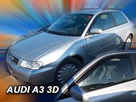 Дефлекторы окон (ветровики)  AUDI A3 - 3d 1997r.-2003r (HEKO)