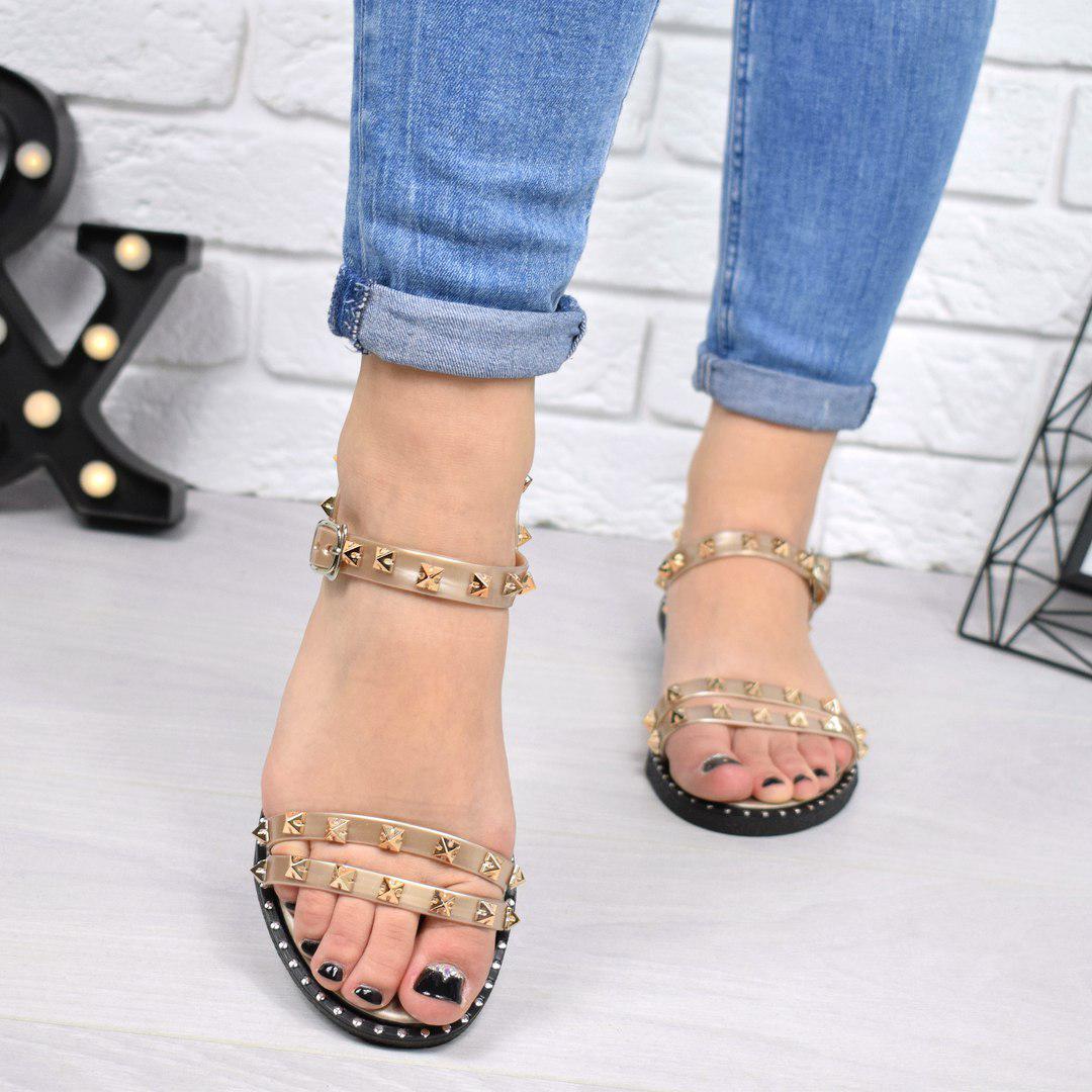 aad7d7bc Купить Босоножки женские Valini бронзу женскую обувь по низкой цене ...