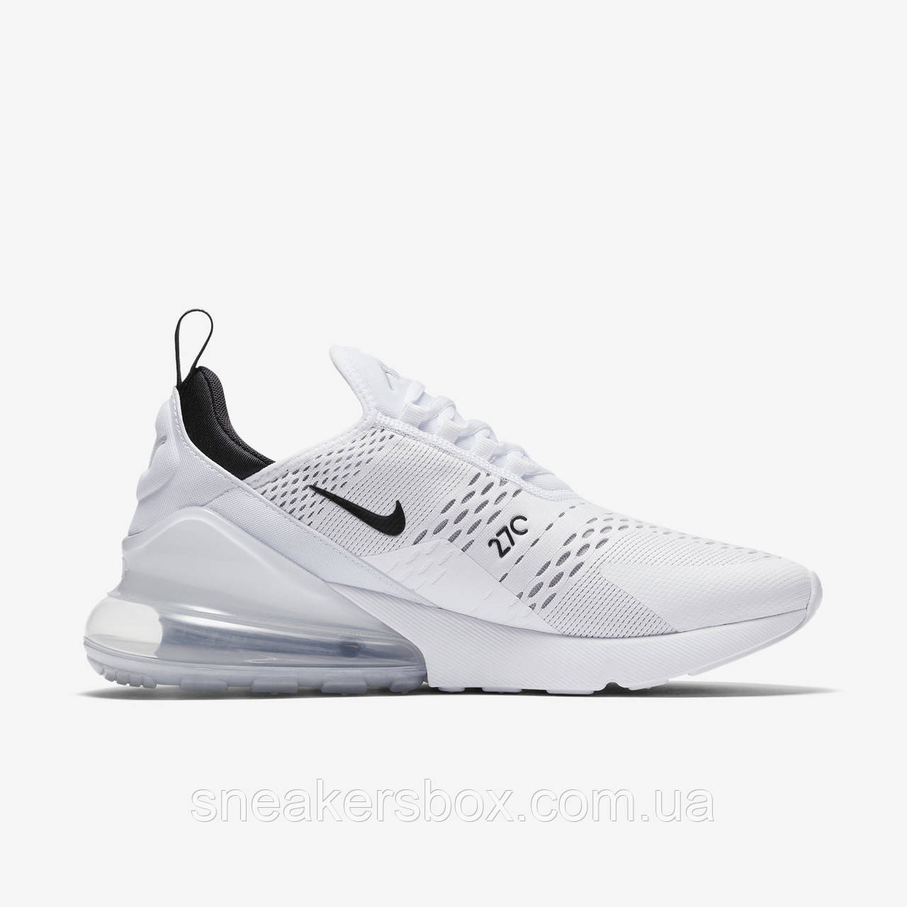 Оригинальные кроссовки Nike Air Max 270 White Black (AH8050-100) -  Sneakersbox 949fcd9caee