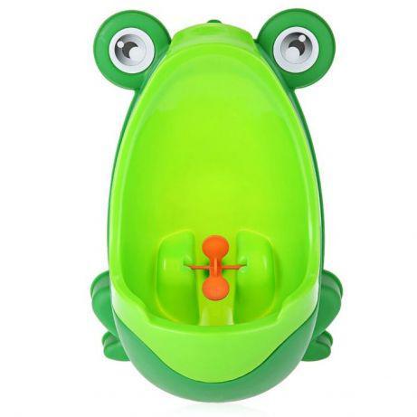 Пісуар (горщик) дитячий жаба з прицілом на присосках