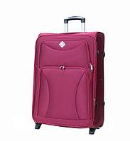 Дорожный чемодан на колесах Bonro Tourist Вишневый Средний