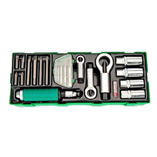 Набор инструмента комбинированный 22ед. (в ложементе) TOPTUL GTA22340