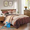 Комплект постельного белья Евростандарт из сатина БАНТИКИ (200*220)