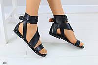Модные кожаные сандалии  в греческом стиле . Мега хит