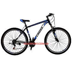 Горный велосипед Cross Atlas 29 дюймов черно-синий